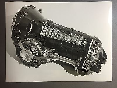 1990 Porsche Carrera 2 Tiptronic B&W Press Photo Factory Issued RARE!! Awesome