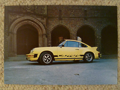 1984 Porsche 911 Carrera Coupe Picture, Print, Poster AWESOME L@@K