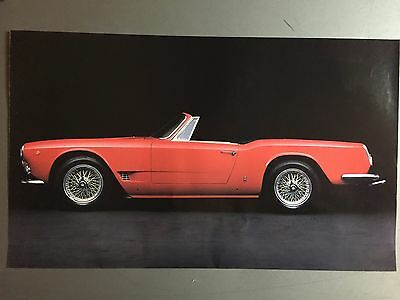 1962 Maserati 3500 GT Cabriolet Print, Picture, Poster RARE!! Awesome L@@K