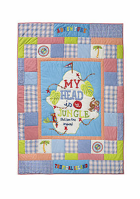 Room Seven Tagesdecke My head is a jungle 160x220 cm SO 2015 NEU