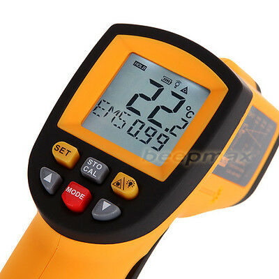 Non-Contact Hot IR Infrared Temperature Gun w/ Thermometer Laser Point