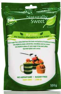 Xylitol (Sugar Free) - Healthy Alternative to Cane Sugar | NATURALLY SWEET