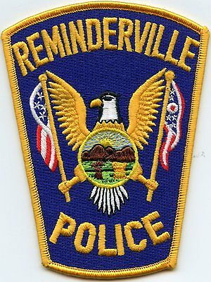 Reminderville Ohio Oh Police Patch