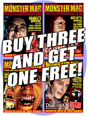Monster Mag #18-20 - special three-for-two offer on our latest issues
