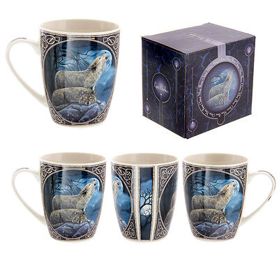 """Lisa Parker """"howling Wolf"""" Gothic Mug,cup"""
