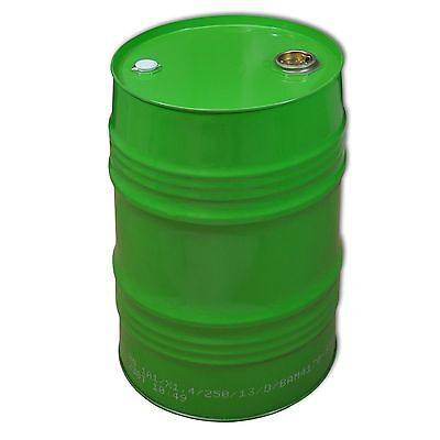 Green metal Tighthead Drum, 62 L, UN approved, Twin L Ring (23027)