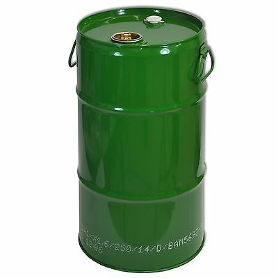 Green metal Tighthead Drum, 32 L, UN approved, Twin L Ring (23029)