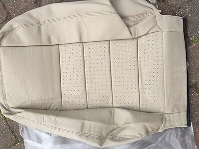 Discovery 3 LR3 front RH seat back cover LR008432  Almond leather NAS