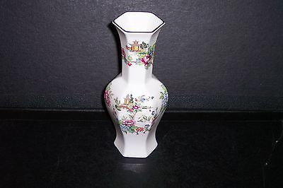 Crown Staffordshire Pagoda Large Vase - Mint