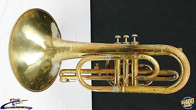 F.E. Olds & Son 1978 Mellophone, Fullerton, CA, AS-IS for Parts, Project A20391