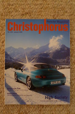 Porsche Christophorus Magazine English #276 January 1999 RARE!! Awesome L@@K
