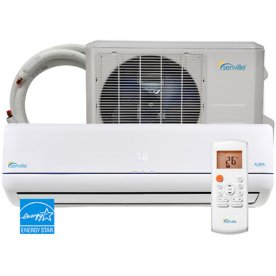 9000 Ductless Mini Split AC Heat Pump ENERGY STAR by Senville