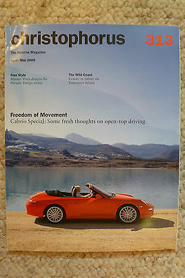 Porsche Christophorus Magazine English #313 April / May 2005 Awesome L@@K
