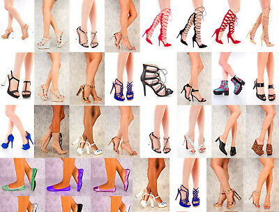 RX1 NIB 15 Womens Wholesale Lot Mix High Heel Platform Evening Pump Sandal Shoes