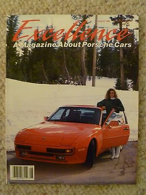 1988 Porsche Excellence Magazine #10 August 1988 RARE!! Awesome L@@K