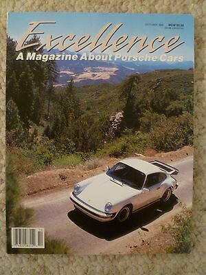 1988 Porsche Excellence Magazine #11 October 1988 RARE!! Awesome L@@K