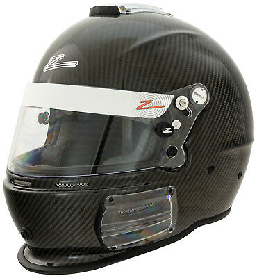 ZAMP - RZ-44C Carbon Fiber SA2015 Pro Auto Racing Helmet - Snell Rated CF