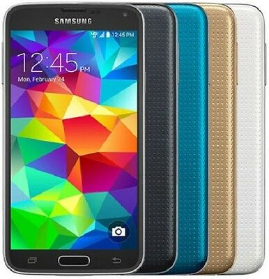 Samsung Galaxy S5 Black White Gold or Blue - SM-G900A AT&T *Refurbished*