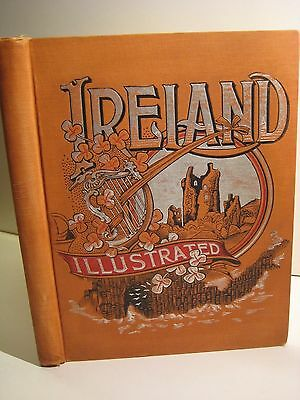 "1891 IRELAND ILLUSTRATED_CELTIC HISTORY_CASTLES_IRISH CATHOLIC  9x11"" SOLD $249"