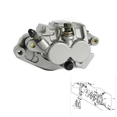 Front Brake Caliper With Pads For Honda CR125R/CR250R 2000 CRF150F 03-09 12-16