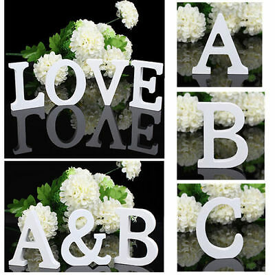 Romantic Gifts Wooden Letters Alphabet Wedding Party Decor Ornament Freestanding