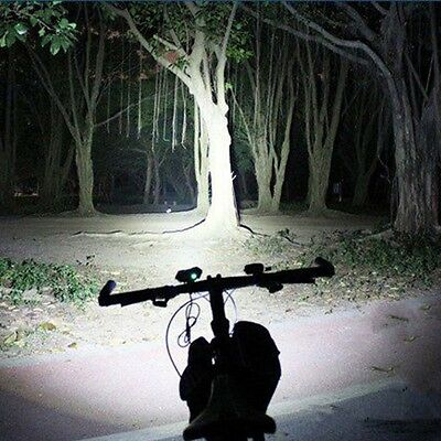 10000Lm 3 x CREE T6 LED Bicycle Lamp Light Headlight Camping Cycling Torch Red