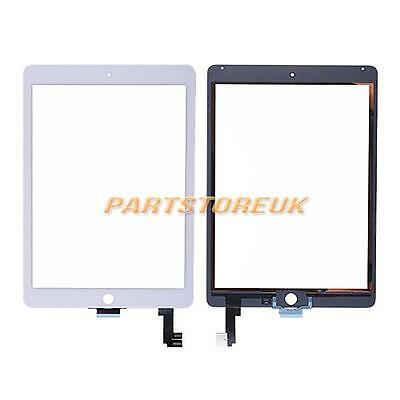 White Touch Screen Glass Digitizer Panel Replacement For Apple iPad Air 2 UK