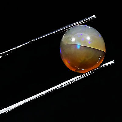 1 PC Natural ETHIOPIAN OPAL Welo Fire Loose Calibrated Cabochon Edelstein 2.00Ct