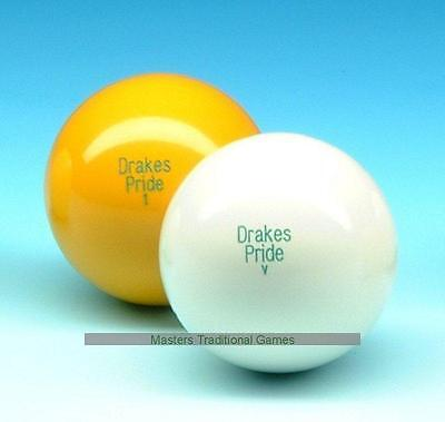 Standard Outdoor White Lawn Bowls Jack (63-64mm, approx 266g)