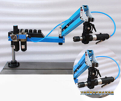 M3-M12 Flexible Arm Universal Pneumatic Tapping Machine Multi-direction Tapping