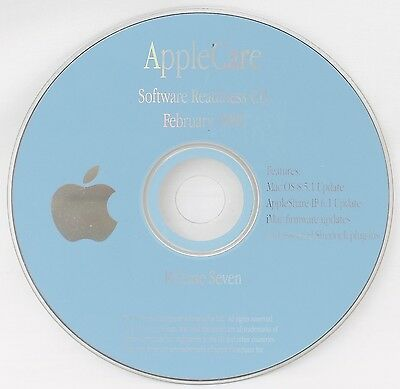 Apple AppleCare Software Readiness CD Feb 1999 Release 7