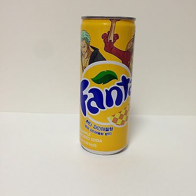 Fanta Pineapple Flavor One Piece Edition Full New 250ml