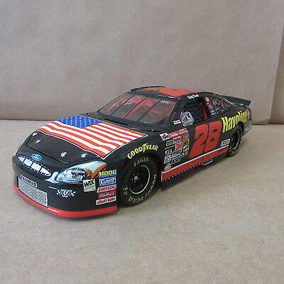 NASCAR Ricky Rudd #28 Havoline/Memorial 2001 Taurus 1:24 Scale Stock Car