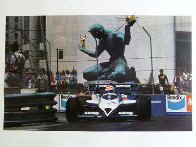 1985 Parmalat Formula 1 Race Car Print Picture Poster RARE!! Awesome L@@K