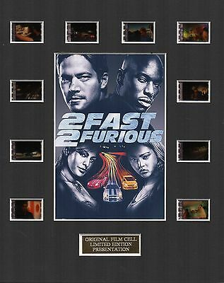 2 Fast 2 Furious 35mm Film Cell Display