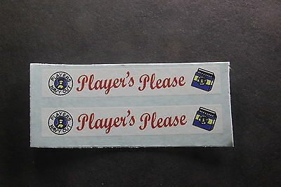 "MATCHBOX TRANSFERS/DECALS - 5b/5c LONDON BUS - ""Players Please"""
