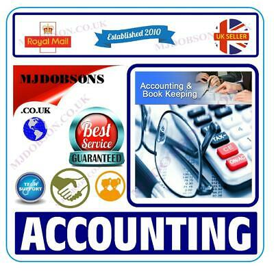 Accounting, Bookkeeping & Personal Finance Software✅(MD94)