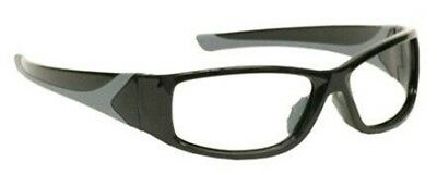 X Ray Radiation Safety Glasses Leaded Lenses in Stylish Wrap Safety Frame