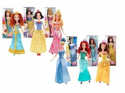 """DISNEY PRINCESS 12"""" dolls  New various characters and series  available Mattel"""