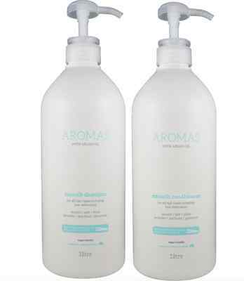Nak Aromas Argan Oil Smooth Shampoo and Conditioner 1000ml Duo Pack 1 Litre