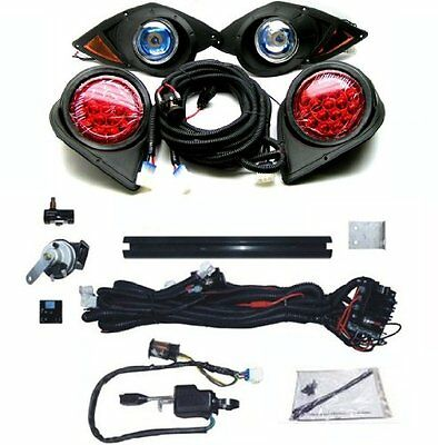 Yamaha G29 'DRIVE' Golf Cart Headlight & Tail light Kit Deluxe Street Package