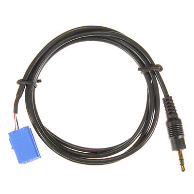 Aux In Input Adapter Interface Cable For Blaupunkt Car Radio Ipod 3.5Mm Jack WS