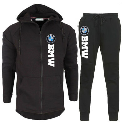 survetement jogging sweat a capuche auto moto logo bmw. Black Bedroom Furniture Sets. Home Design Ideas