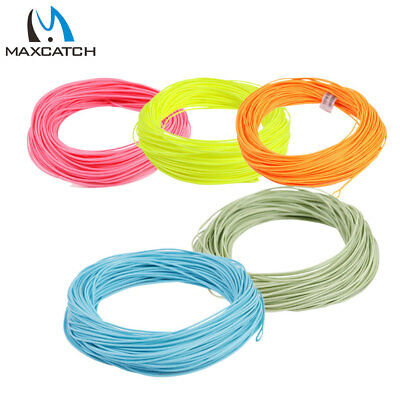 WF2-8 Weight Moss Green Weight Forward Floating Welded Loop Fly Fishing Line