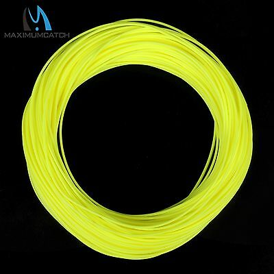 WF2/3/4/5/6/7/8 Trout Fluo Yellow Fly Fishing Line Maxiumcatch Floating Fly Line