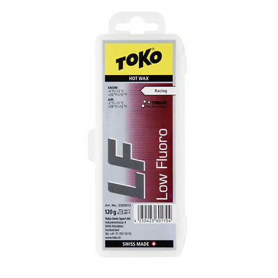 Toko LF Red Cold Fluorinated Ski & Snowboard Race Wax 120g