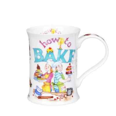 Dunoon Mug How to Bake Cotswold Fine Bone China -BRAND NEW