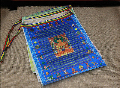 1 x Authentic premium quality tibetan prayer flags