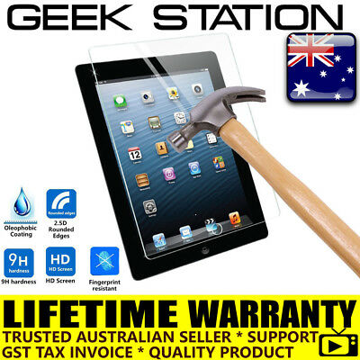 100%Genuine Tempered Glass Screen Protector Compatible iPad 2 3 4