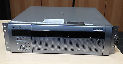 Used Panasonic WJ-ND400K Security NVR